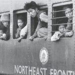 NEFA पर चीनी सीमा के कब्जे के बाद पलायन करते भारतीय। NEFA ही अब अरुणाचल प्रदेश है।