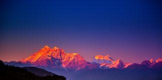 himalayas, landscape