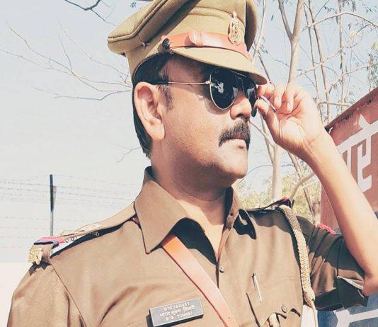 police cop bharat bhushan tiwari