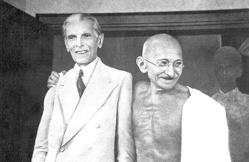 jinaah and gandhi