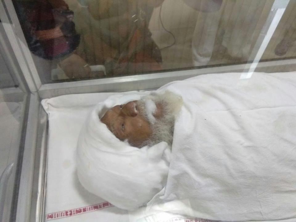 swami sanand dead body
